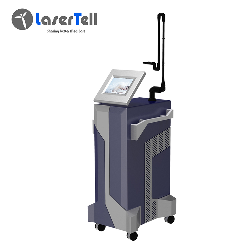 2020 wholesale price Rf Tube Co2 Laser - Professional 10600nm Fractional CO2 Laser dental laser beauty machine acne freckles – LaserTell Featured Image