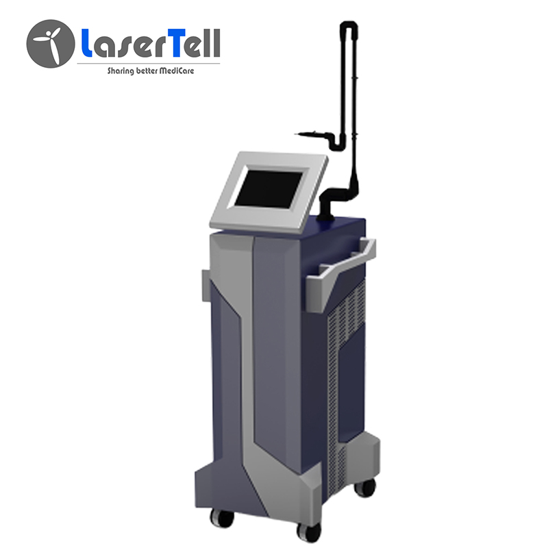 2020 wholesale price Rf Tube Co2 Laser - Professional 10600nm Fractional CO2 Laser dental laser beauty machine acne freckles – LaserTell