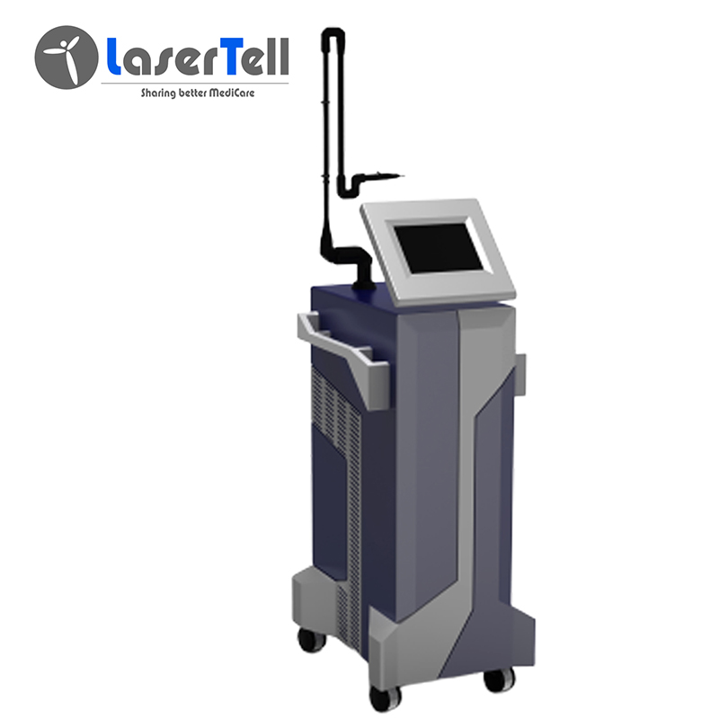 Popular Design for Portable Co2 Laser Machine - Professional 10600nm Fractional CO2 Laser dental laser beauty machine acne freckles – LaserTell detail pictures