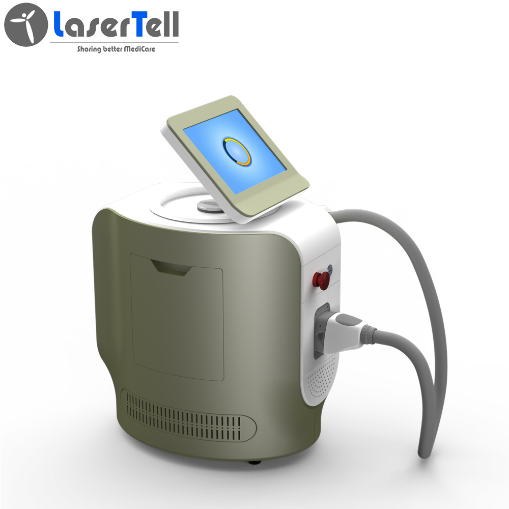 New portable products triple wavelength 808nm diode laser hair removal machine for sale Featured Image