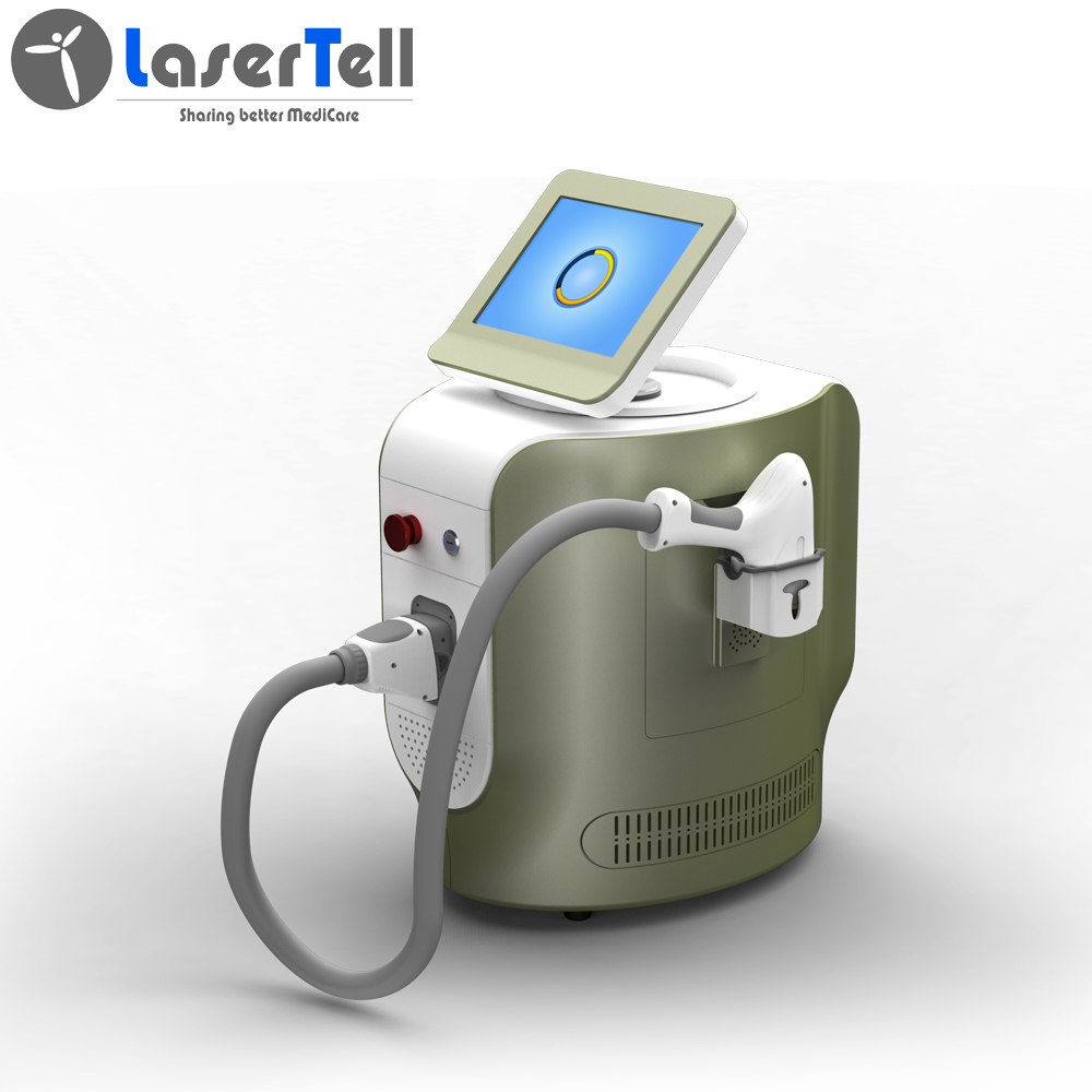 New portable products triple wavelength 808nm diode laser hair removal machine for sale