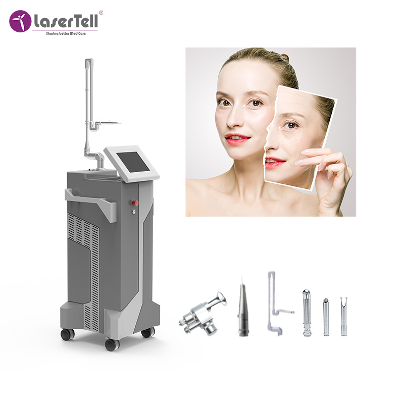 Multifunctional co2 fractional laser scar removal machine fractional co2  vaginal tightening machine for women