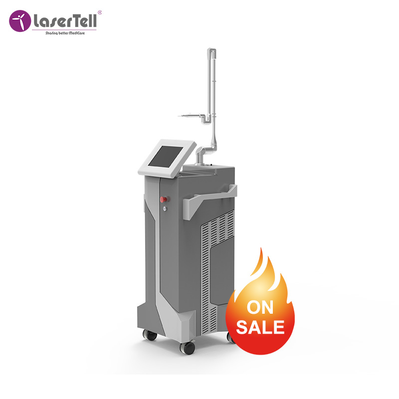 Amazing beauty equipment LaserTell Ghost for wrinkle/scar removal/acne/vaginal tightening/righting skin