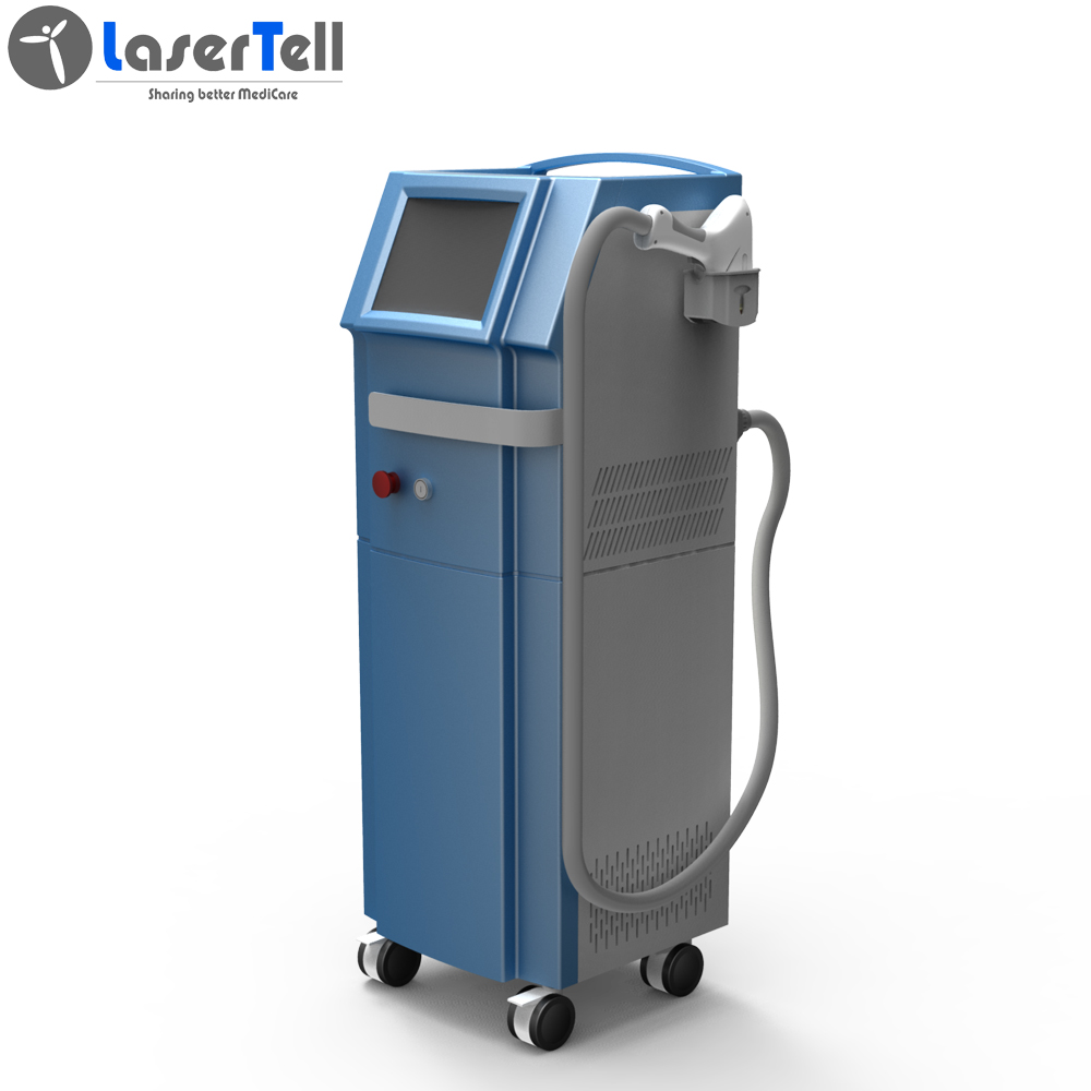 LaserTell hot factory price stable type 808nm diode laser hair removal beauty equipment