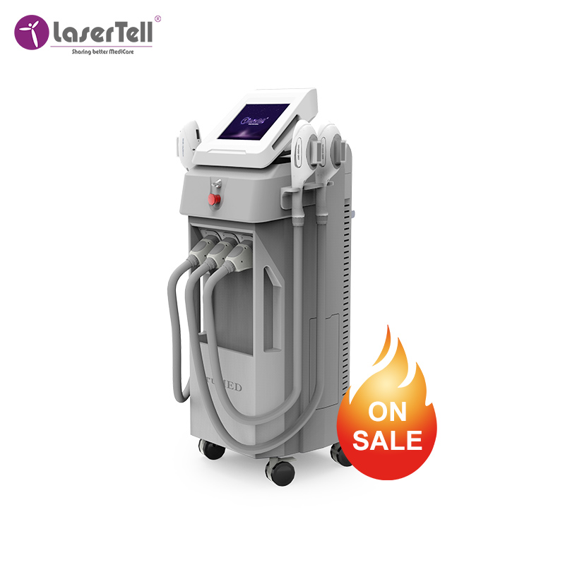 Quality Assurance permanent hair removal  diode laser skin rejuvenation machine painless permanent IPL hair removal