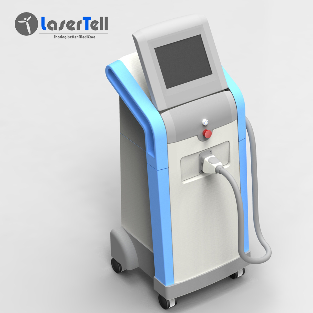 LaserTell big promotion sale 3 wavelengths Laser 808 755 1064 Hair Removal machine for sale