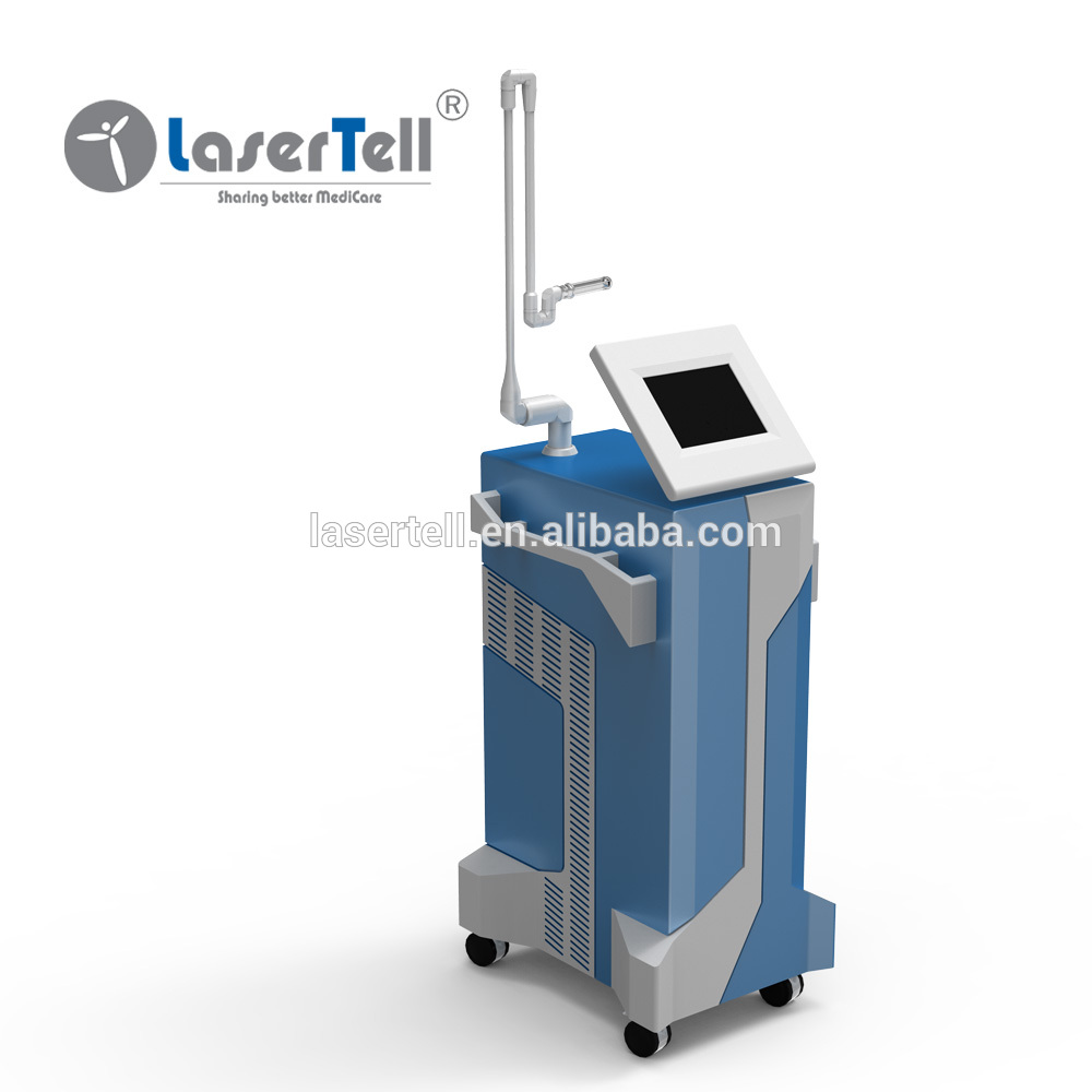 USA Coherent Metal Tube Medical RF co2 fractional cosmetic laser machine