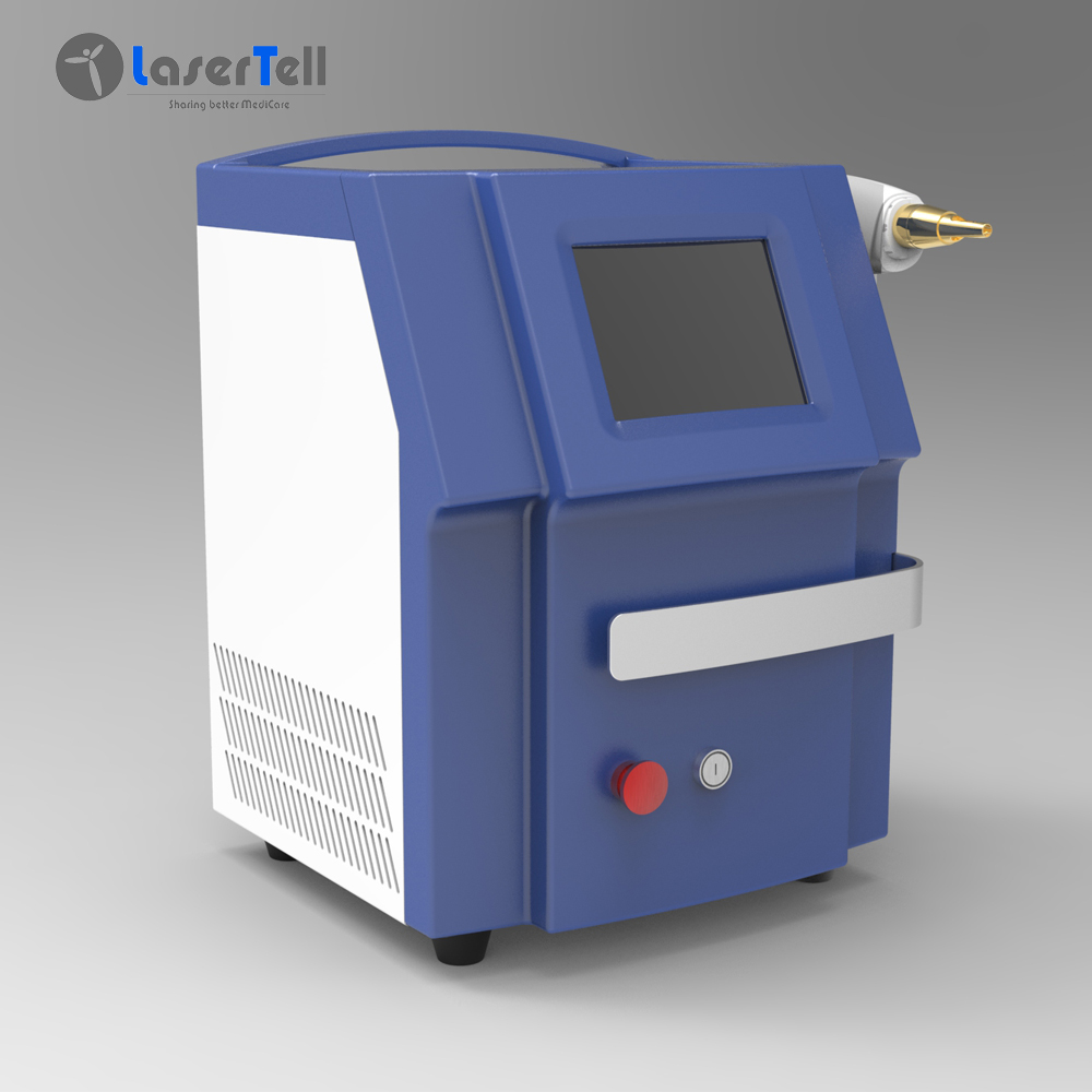 mini Q-switch laser/1064nm 532nm q switched nd yag laser tattoo removal