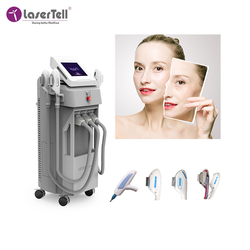 E Medical CE approved shr ipl/shr ipl painless hair removal/permanent opt hair removal machine for men