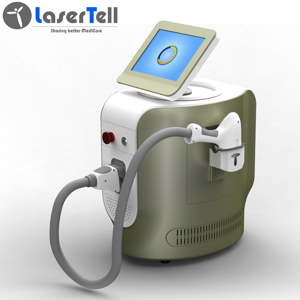 2020 trio laser hair removal triple wavelength (755 808 1064nm) diode laser hair removal machine desktop design new design