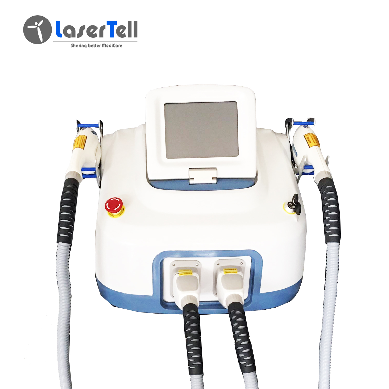 LaserTell SHR hair removal machine for sale Salon Use IPL OPT SHR Laser Hair Removal Machine in Germany