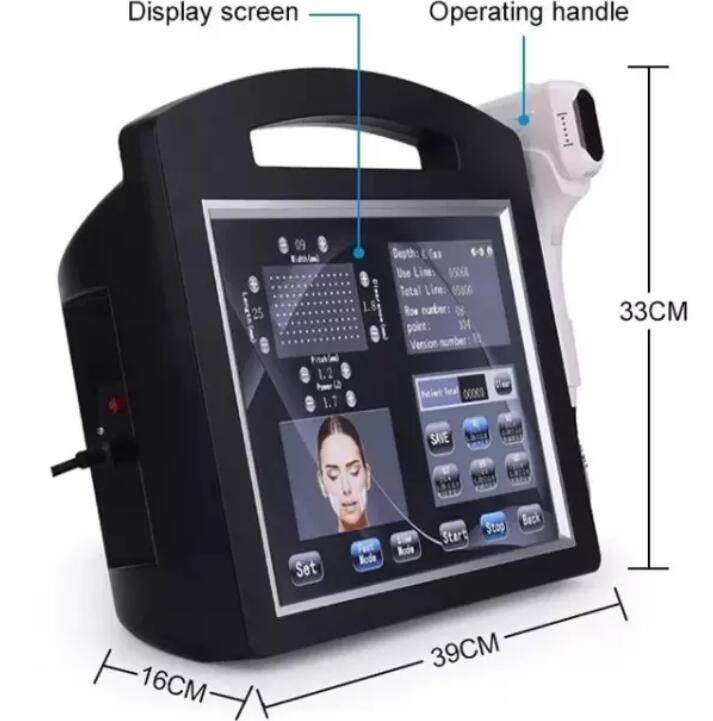 Popular beauty machine skin rejuvenation rinkle removal ultrasonic 4D Vmax H (5)