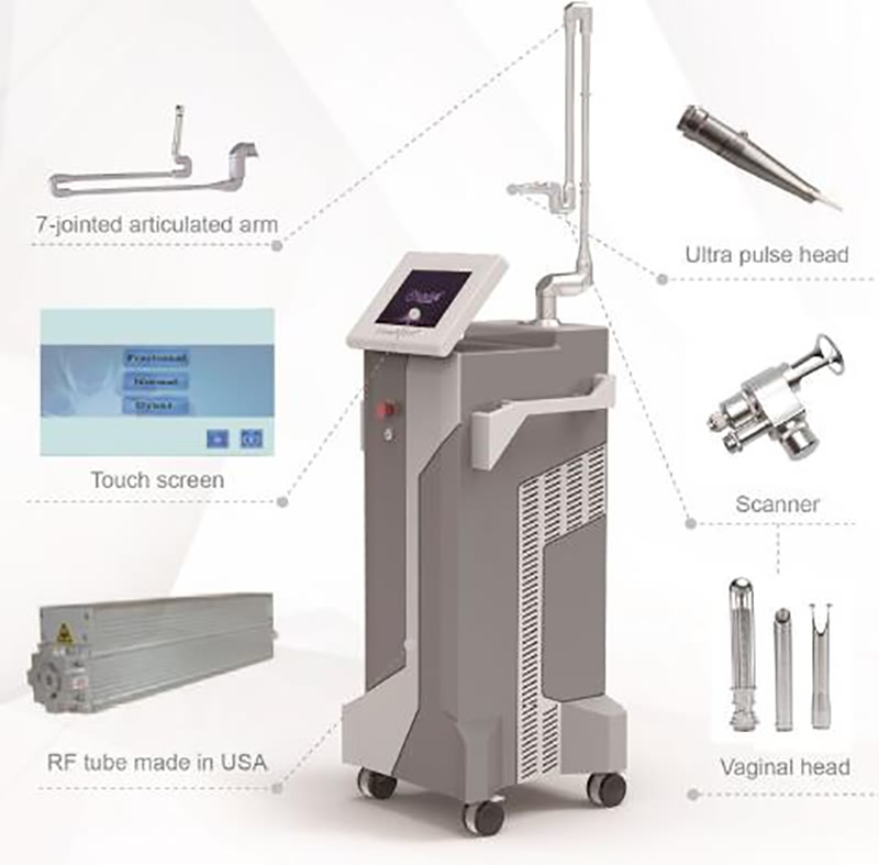 Professional 10600nm Fractional CO2 Laser dental laser beauty machine ac (3)