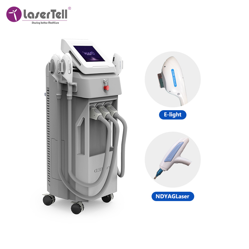 ipl laser hair removal machine/ shr rf nd yag laser multifunction modern hair removal stationary salon equipment