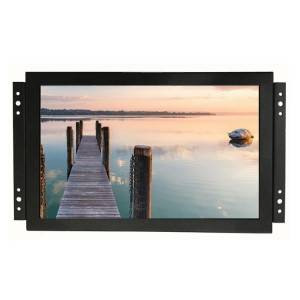 10.1″ 12.1″ 15.6″ 17″ 18.5″ 19″ 21.5″ 23.5″ 27″ 32″ 43″ Open Frame Monitor Wall Mounted Embedded LCD Monitor