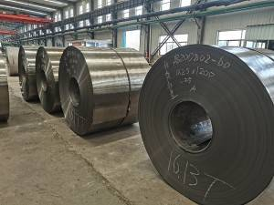 Cold rolled plate production