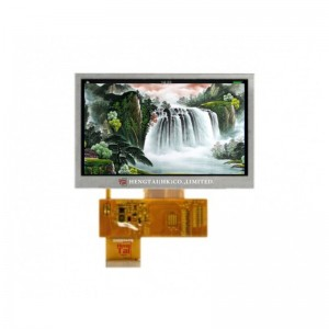 Factory Supply Tft Lcd Panel - 4.3inch IPS TFT, Wide temperature, 800480, 500nits, 40pins 24-bit RGB Interface – Hengtai