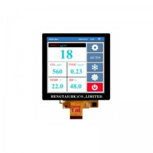 Wholesale 3.5 Tft Lcd Shield - 4.0″ 720X720 300cdm2, MIPI Interface, 30pins with CTP – Hengtai