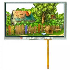 OEM/ODM Manufacturer 5 Inch Tft Display - 7 inch, 800X480, TTL 50pins, Industry TFT, with RTP, 320cdm2-5 – Hengtai