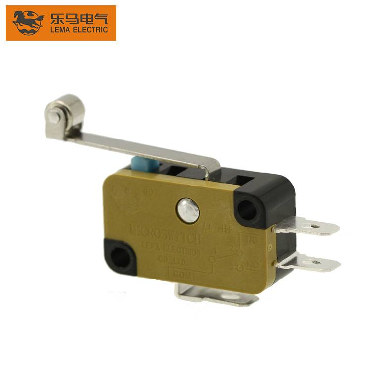 Lema KW7N-2T roller lever micro switch sensitive microswitch for gate opener