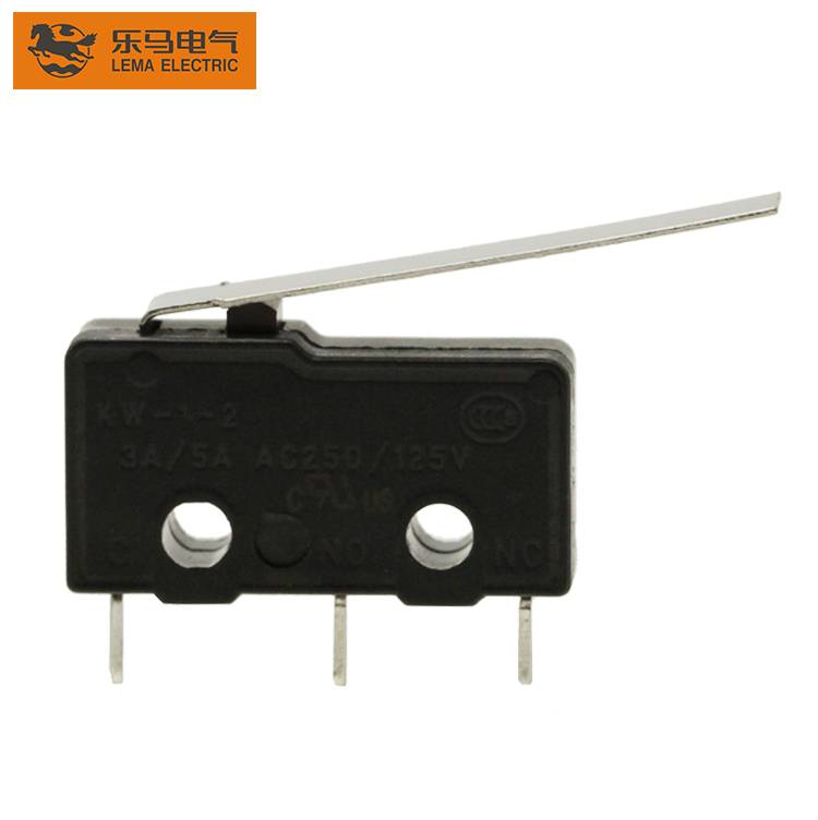 Lema KW12-92 3 pin electrical long lever mini micro switch ccc ce micro switch