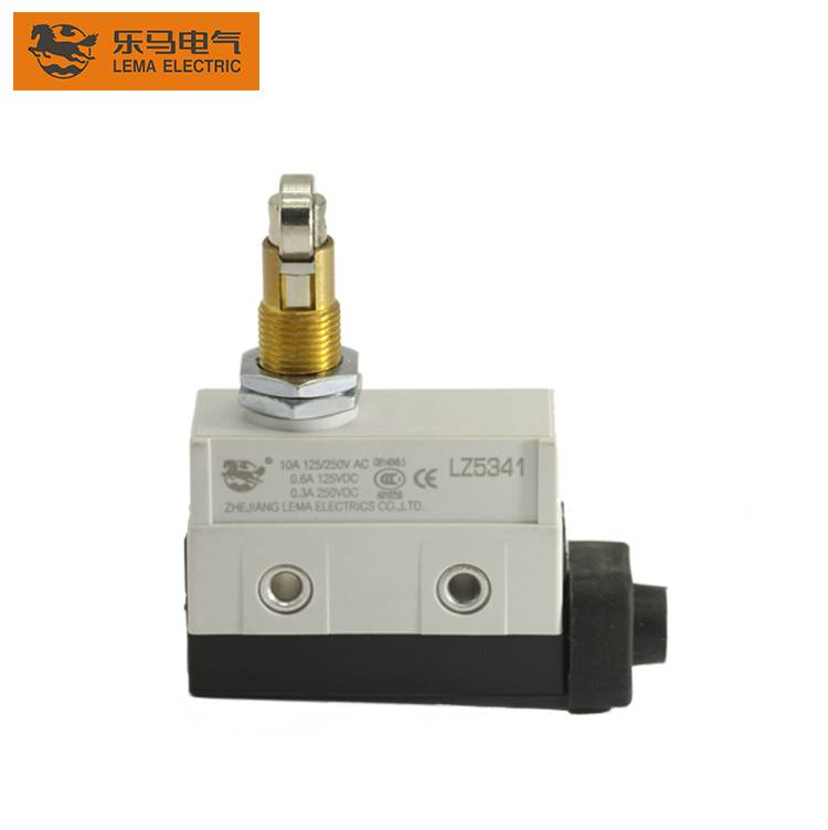 LZ5341 Panel Mount Cross Roller Plunger D4MC Waterproof Limit Switch IP65