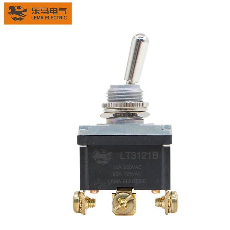 15A 125V 12MM  ON-OFF 3 Position Mini Toggle Switch