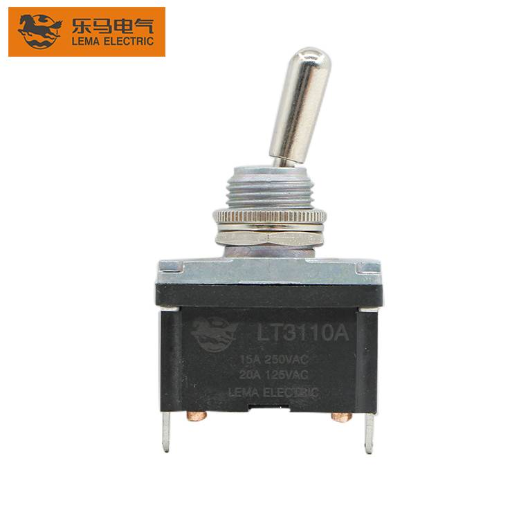 Factory Sale good quality  LT3310A  15A 125V  2way  ON-OFF  Electric Toggle Switch