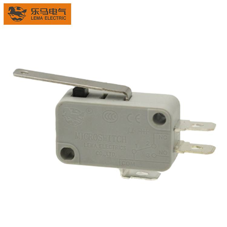 Lema KW7-12 approved lever electrical micro switch 16a 250vac 40t85 micro switch