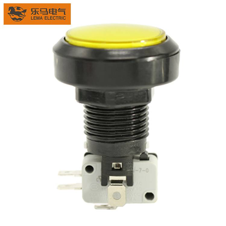 Hot Sale PBS-004 Game Machine Low Voltage 3 Pins Push Button Switch
