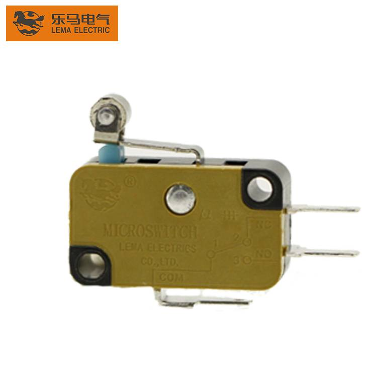 Lema KW7N-3R roller lever electric sensitive micro switch for mechanism