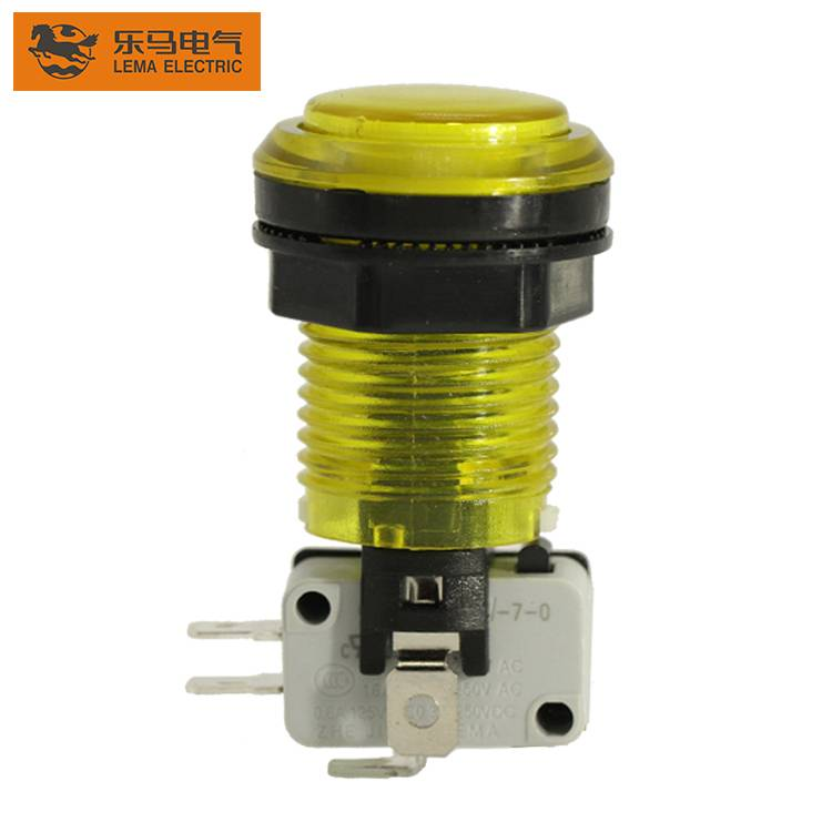 PBS-003 electrical momentary led push button switch