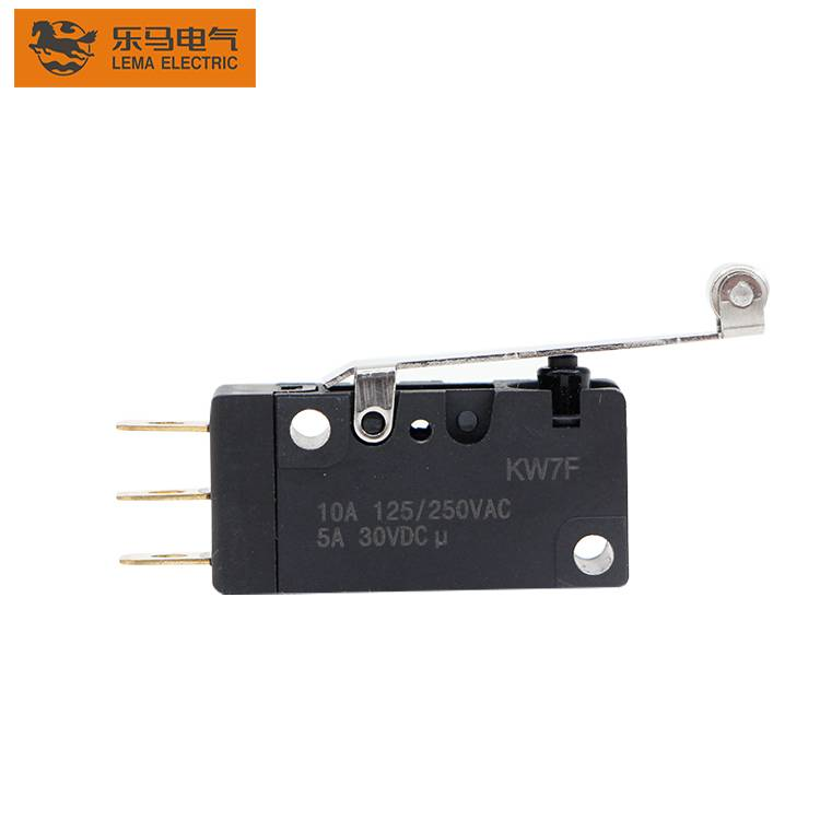 Manufacturing Companies for On & Off Puch Button Switch - High Quality 16A KW7F-2T 125/250VAC  Micro Switch 220V – Lema