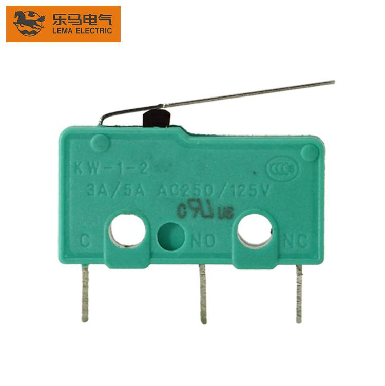 Lema KW12-1S 3 pins electric microswitch general purpose micro switch