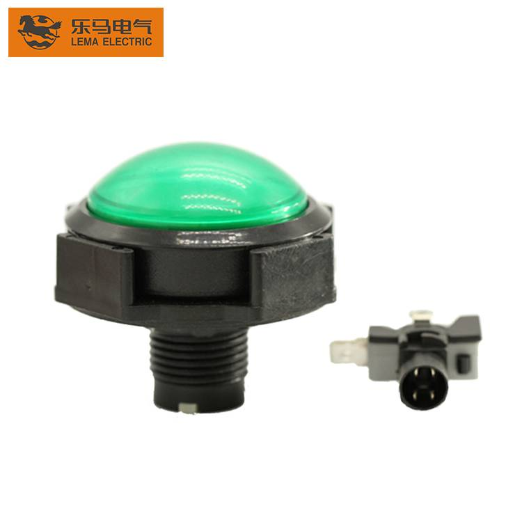Hot Sale PBS-006 Momentary ON OFF Illuminated Push Button Switch