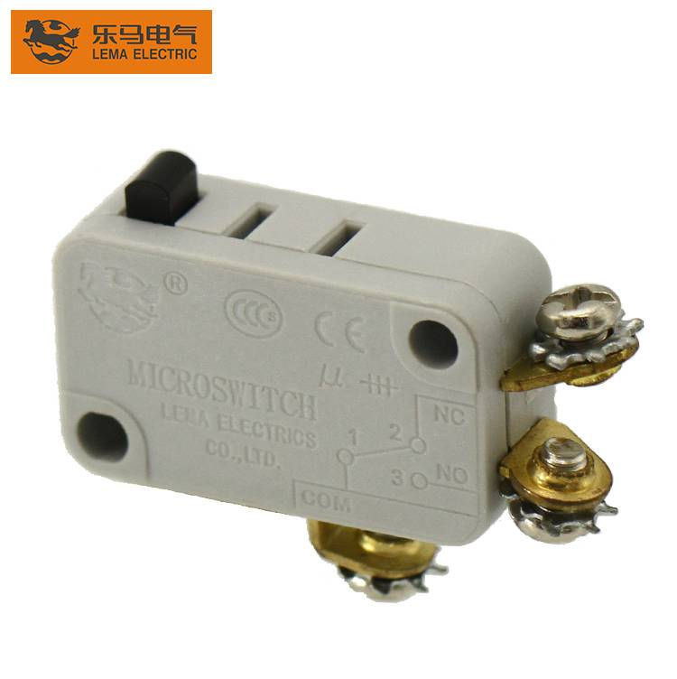 Lema grey KW7-0L1 screw terminal electrical sensitive micro switch 16a 250v microswitch