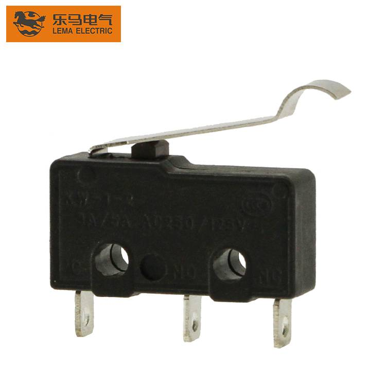 Lema KW12-54 lever solder terminal subminiature micro switch mini micro switch