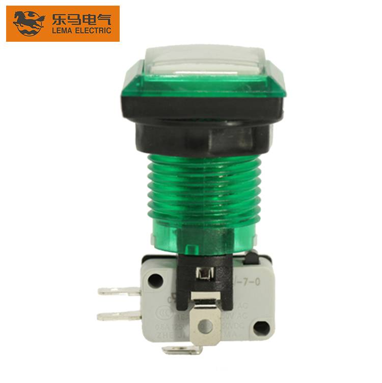 Lema PBS-008 High quality led plastic push button switch
