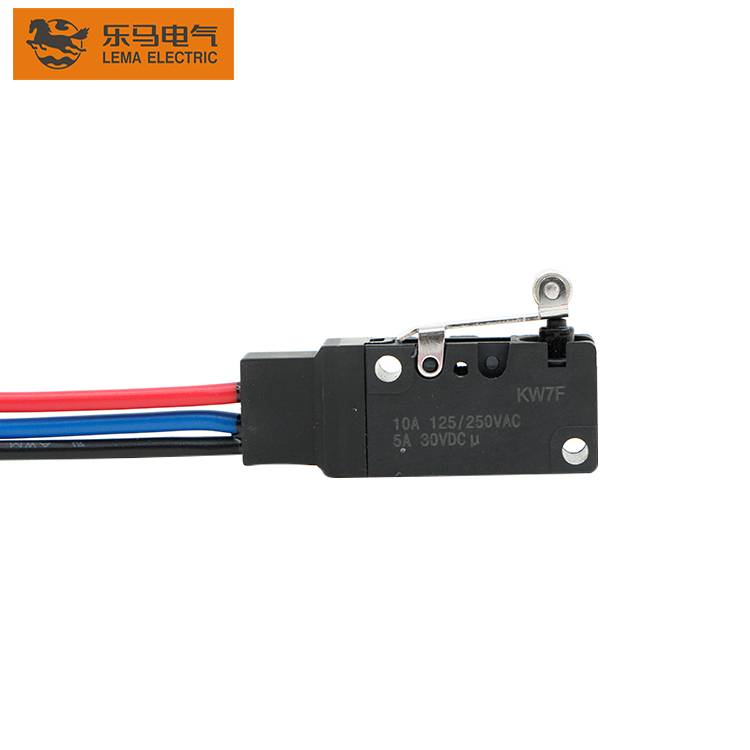 Hot products KW7F series  waterproof 1a 125vac micro switch