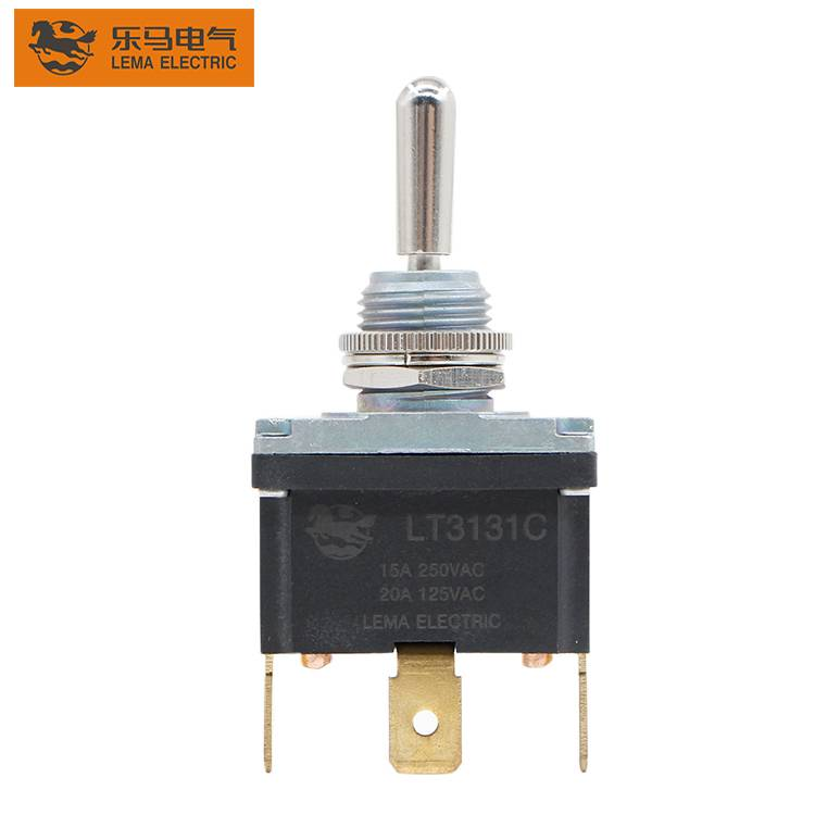 LT3131C  Toggle Switch 15A 250V ON-OFF 3 Position  Toggle Switch