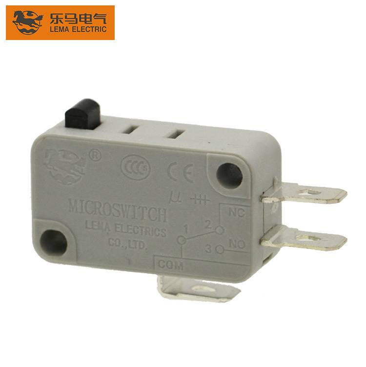 Customized Lema KW7-0 pin plunger actuator 26a  16A double  micro switch