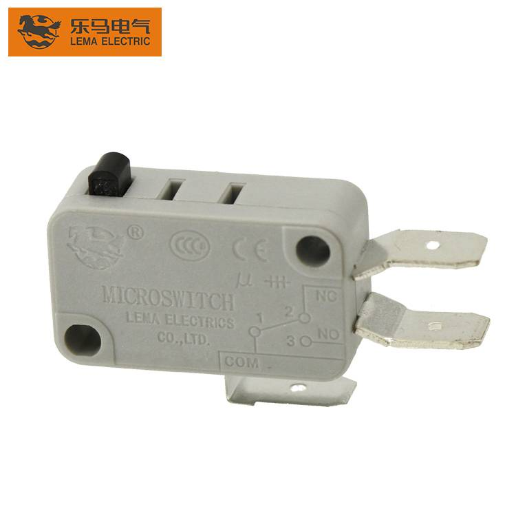 Lema KW7-0U grey actuator plastic micro switch t85 5e5 3 pins microswitch