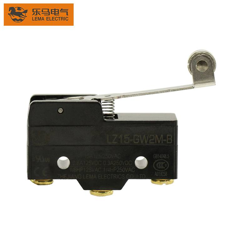 China Wholesale Micro Power Switch Manufacturers –  Hot Sale LZ15-GW2M-B Metal Lever Approved Limit Microswitch for Home Appliance – Lema