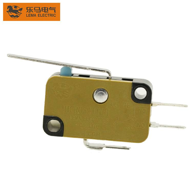China wholesale Micro Switch 250v 16a - Lema KW7N-1R actuator micro switch for home appliances ce micro switch – Lema