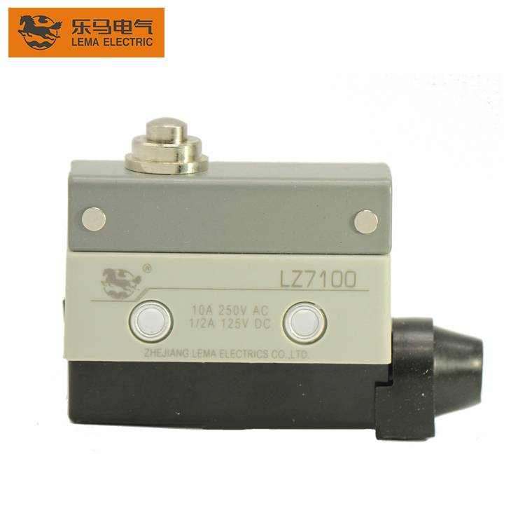 Hot Sale LZ7100 Short Push Plunger 10A 250VAC Mechanical Load Limit Switch