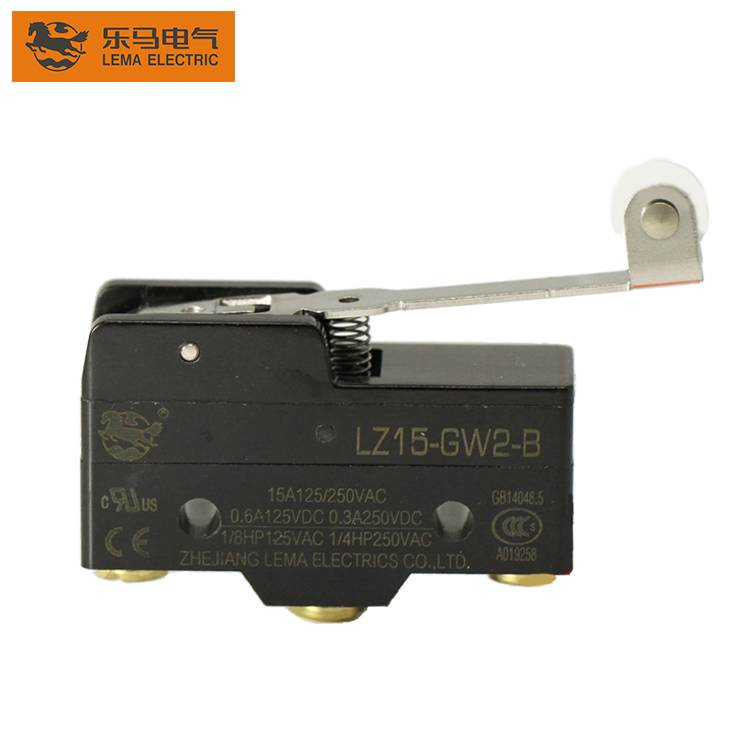 LZ15-GW2-B Z-15GW2-B Hinge Roller Lever Actuator 1/4HP Automation Micro Switch