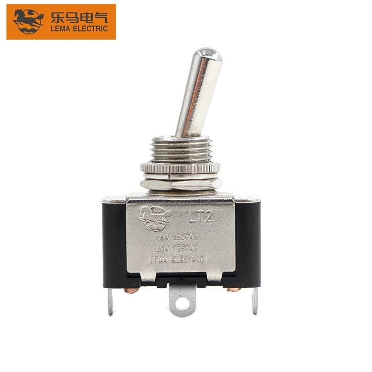 Lema LT2120A 15A 125/250VAC  locked on off Toggle Switch
