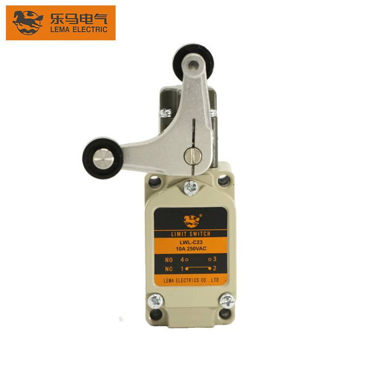 China Wholesale Precision Limit Switch Pricelist –  Lema LWL-C23 10A 250VAC fork lever lock rotary limit switches for machines – Lema