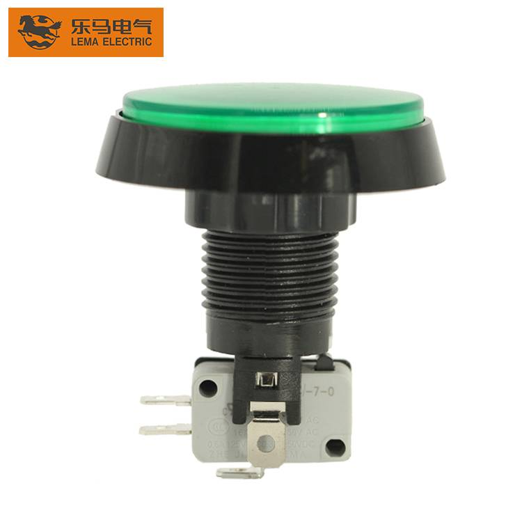 Factory price micro PBS-005 plastic led push button switch