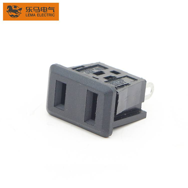 IPZ-5 Panel Mounting Chassis Socket 2 Solder Pin Male Socket